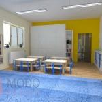 Remont sali przedszkolnej w Ostromecku